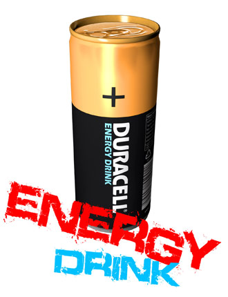 Energy drink Duracell +