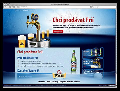 Nové nealkoholické pivo FRÍÍ