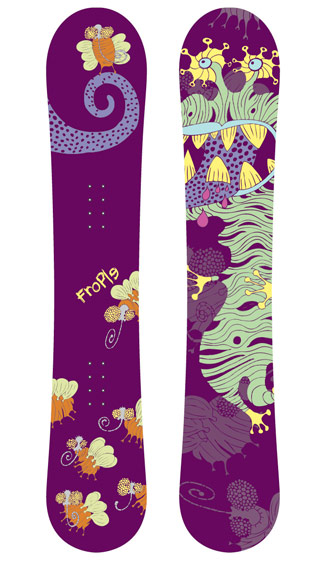 Snowboardy Frople