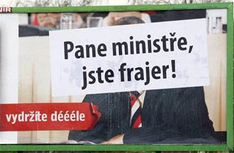 Pane ministře jste frajer