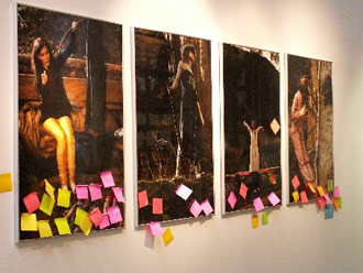 Post-it na Designbloku