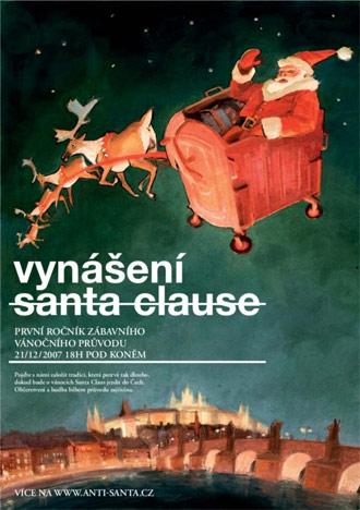 Vynášení Santa Clause