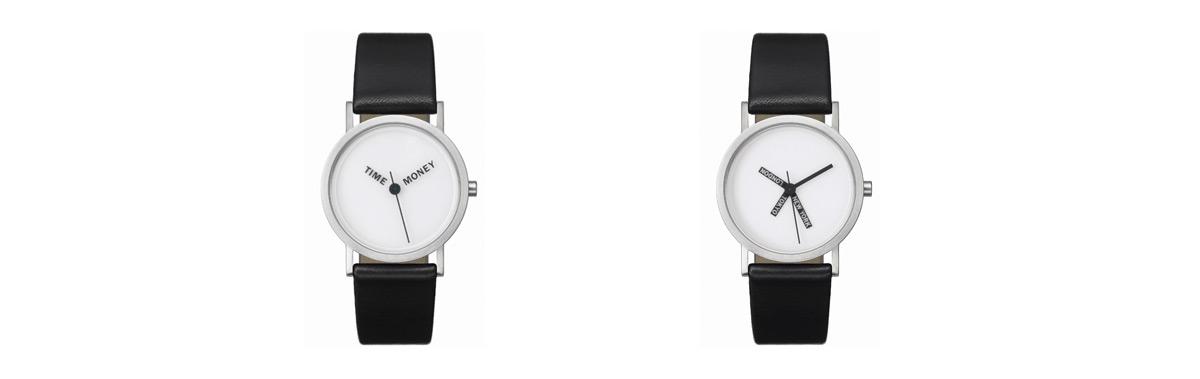 Normální hodinky Normal Timepieces od designera Rosse McBride ... d7856e6418