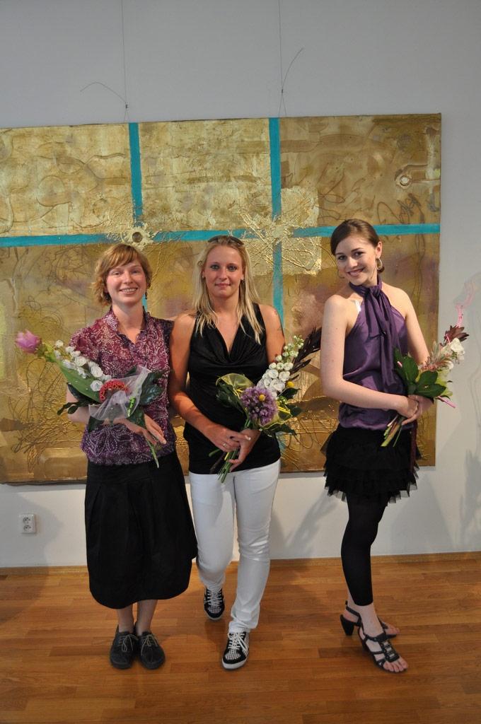 2010 a 3 vítězky. Zleva Aneta Ryšánková, Veronika Černá a Veronika Pavelková